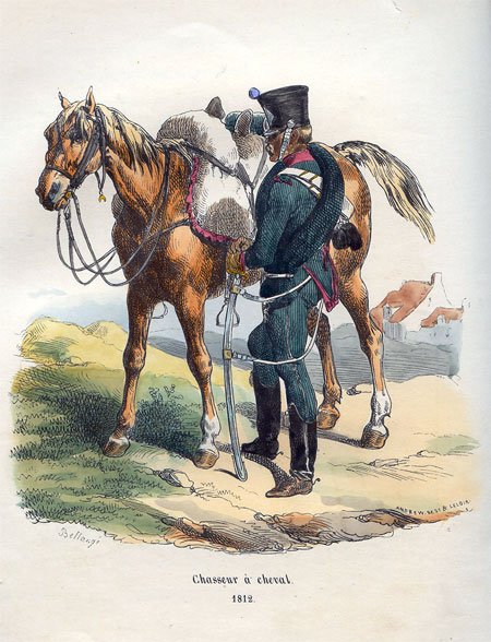 Chasseur a cheval, 1812.
