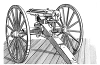 Gatling Guns: Service and Description, 1878