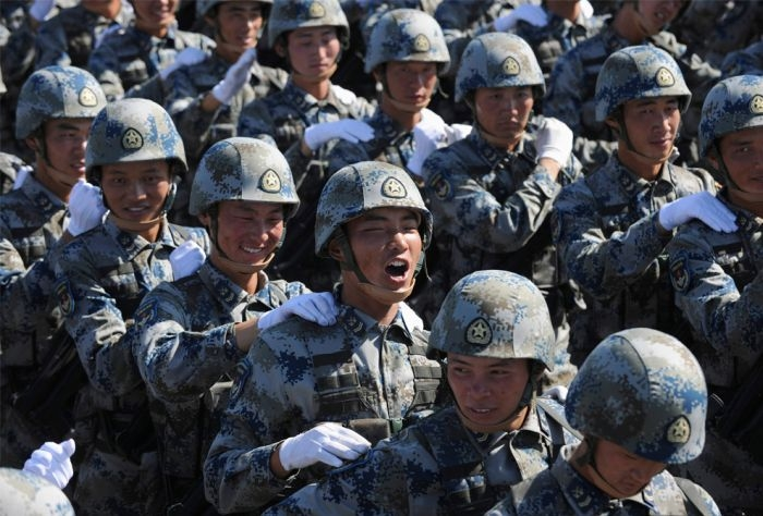 PEOPLE'S REPUBLIC OF CHINA CELEBRATES 60TH ANNIVERSARY: MILITARY PARADE IN BEIJING